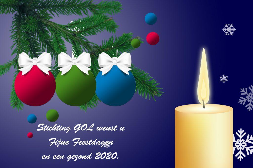 kerstgroet met de beste wensen voor 2020