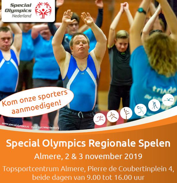 flyer special olympics